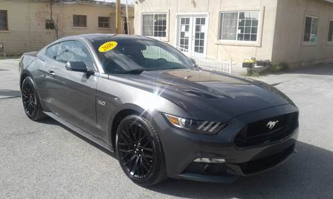 2016 Ford Mustang for sale at CHAVIRA MOTORS in El Paso TX