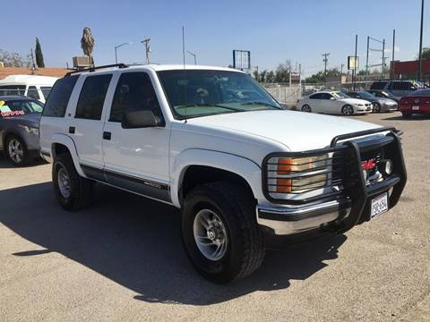 1997 GMC Yukon for sale at CHAVIRA MOTORS in El Paso TX