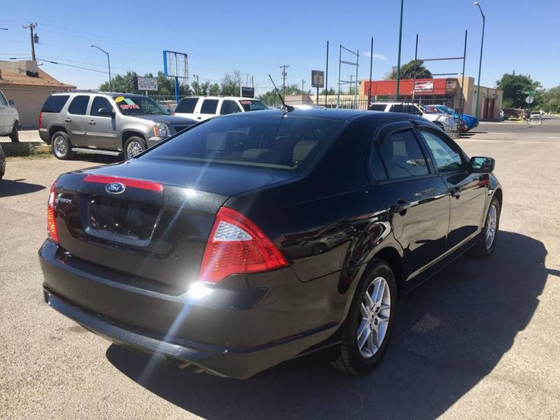 2012 Ford Fusion for sale at CHAVIRA MOTORS in El Paso TX