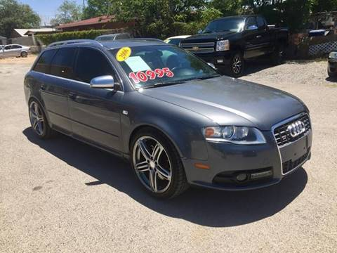 2006 Audi S4 for sale at CHAVIRA MOTORS in El Paso TX