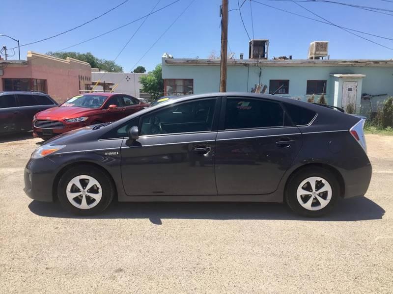 2012 Toyota Prius for sale at CHAVIRA MOTORS in El Paso TX