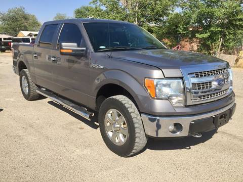 2013 Ford F-150 for sale at CHAVIRA MOTORS in El Paso TX