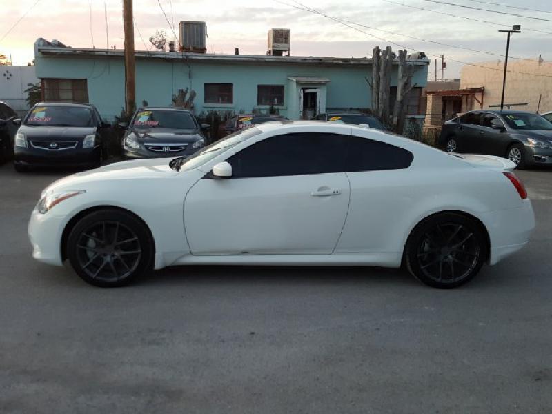 2010 Infiniti G37 Coupe for sale at CHAVIRA MOTORS in El Paso TX