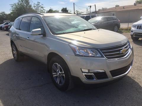 2015 Chevrolet Traverse for sale at CHAVIRA MOTORS in El Paso TX