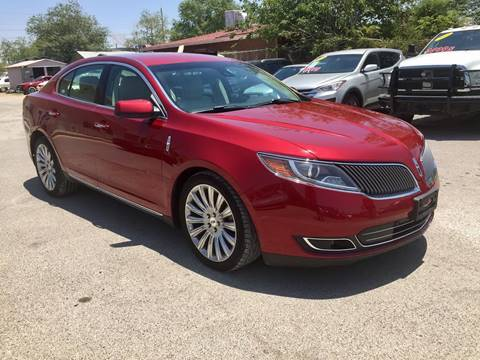 2013 Lincoln MKS for sale in El Paso, TX