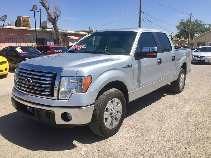 2011 Ford F-150 for sale at CHAVIRA MOTORS in El Paso TX
