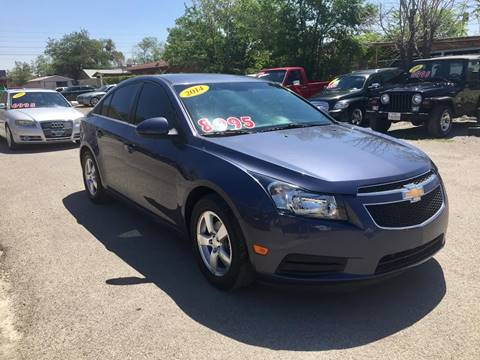 2014 Chevrolet Cruze for sale at CHAVIRA MOTORS in El Paso TX