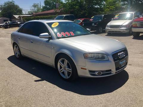 2006 Audi A4 for sale at CHAVIRA MOTORS in El Paso TX