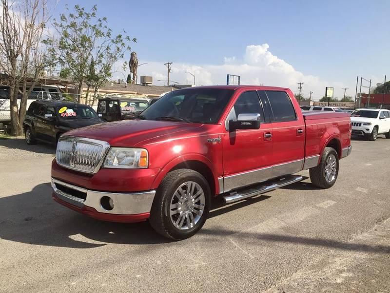 2007 Lincoln Mark LT for sale at CHAVIRA MOTORS in El Paso TX
