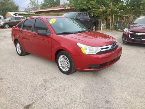 2010 Ford Focus for sale at CHAVIRA MOTORS in El Paso TX
