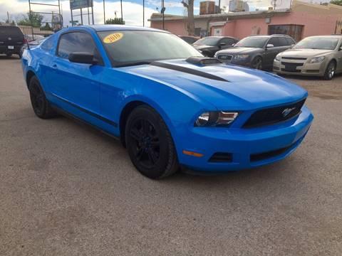 2010 Ford Mustang for sale at CHAVIRA MOTORS in El Paso TX
