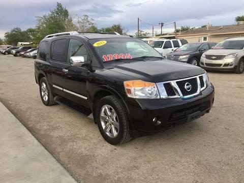 2012 Nissan Armada for sale at CHAVIRA MOTORS in El Paso TX
