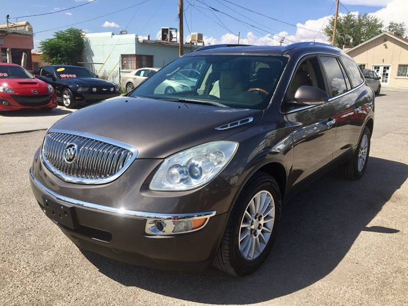 2011 Buick Enclave for sale at CHAVIRA MOTORS in El Paso TX