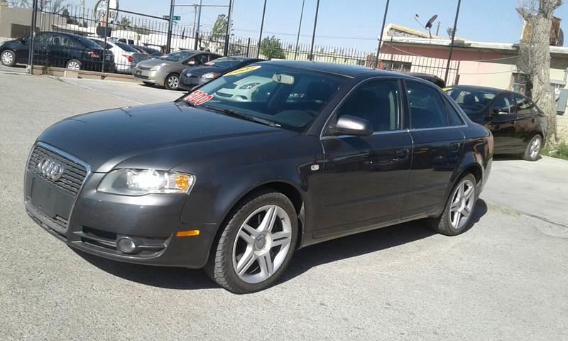 2007 Audi A4 for sale at CHAVIRA MOTORS in El Paso TX