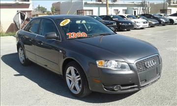 2007 Audi A4 for sale at CHAVIRA MOTORS in El Paso TX