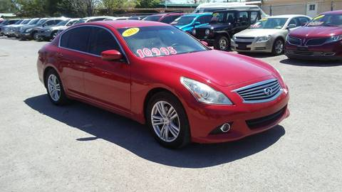 2013 Infiniti G37 Sedan for sale at CHAVIRA MOTORS in El Paso TX
