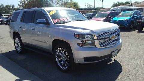 2015 Chevrolet Tahoe for sale at CHAVIRA MOTORS in El Paso TX