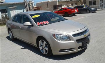 2011 Chevrolet Malibu for sale at CHAVIRA MOTORS in El Paso TX