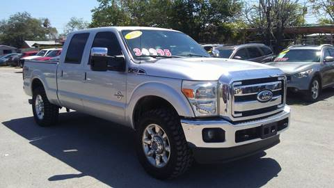 2012 Ford F-250 Super Duty for sale at CHAVIRA MOTORS in El Paso TX