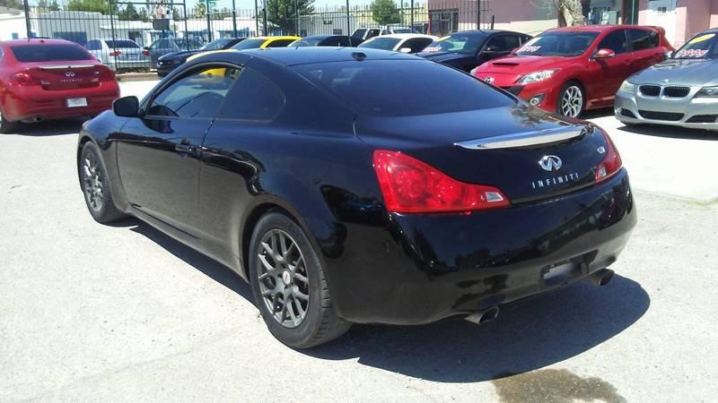 2008 Infiniti G37 for sale at CHAVIRA MOTORS in El Paso TX