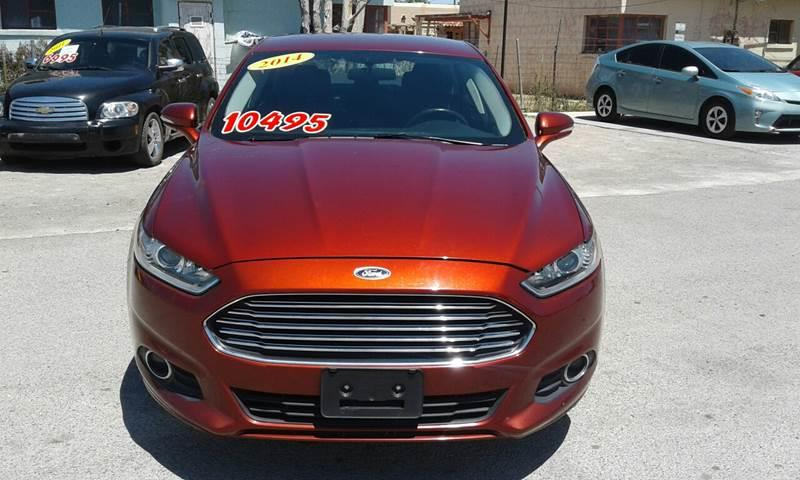 2014 Ford Fusion for sale at CHAVIRA MOTORS in El Paso TX