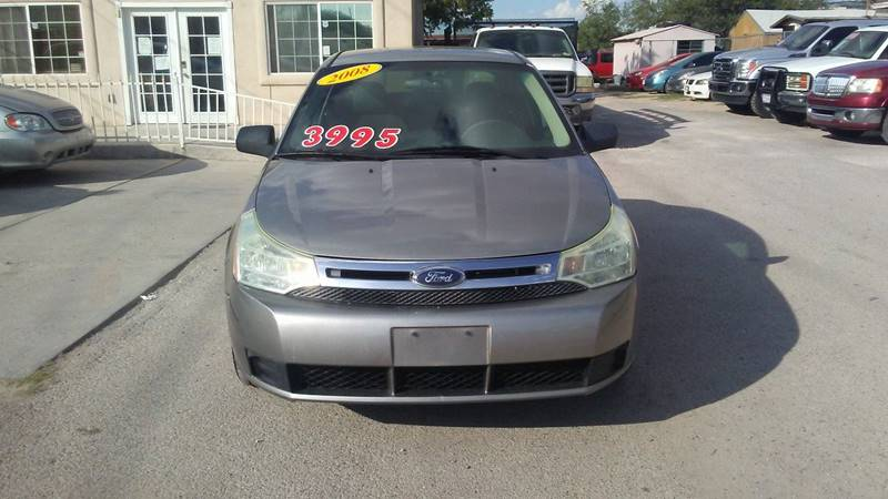 2008 Ford Focus for sale at CHAVIRA MOTORS in El Paso TX