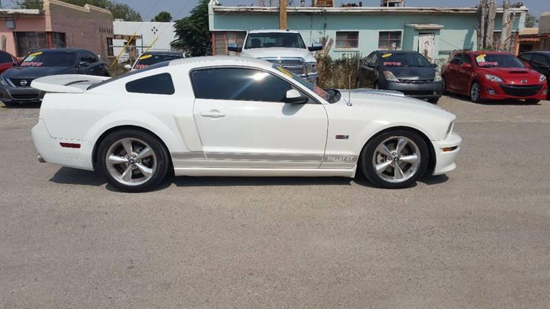 2007 Ford Mustang for sale at CHAVIRA MOTORS in El Paso TX