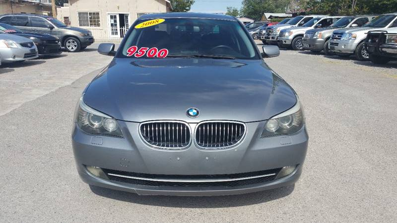 2008 BMW 5 Series for sale at CHAVIRA MOTORS in El Paso TX