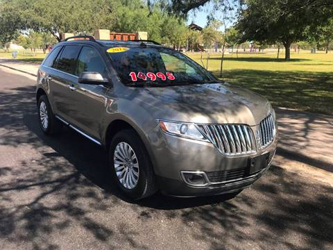 2012 Lincoln MKX for sale in El Paso, TX