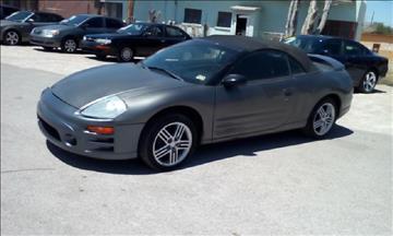 2003 Mitsubishi Eclipse Spyder for sale in El Paso, TX