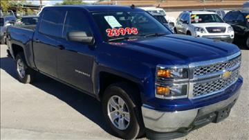 2014 Chevrolet Silverado 1500 for sale at CHAVIRA MOTORS in El Paso TX