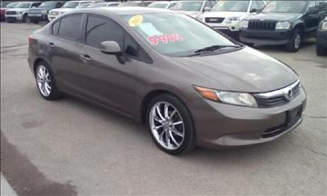 2012 Honda Civic for sale at CHAVIRA MOTORS in El Paso TX