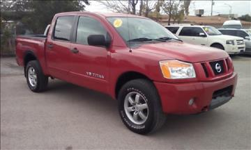 2012 Nissan Titan for sale at CHAVIRA MOTORS in El Paso TX