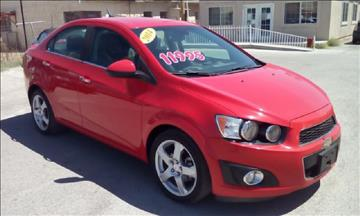 2014 Chevrolet Sonic for sale at CHAVIRA MOTORS in El Paso TX