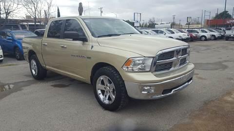 2011 RAM Ram Pickup 1500 for sale at CHAVIRA MOTORS in El Paso TX