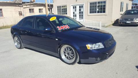 2004 Audi A4 for sale at CHAVIRA MOTORS in El Paso TX