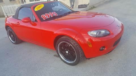 2007 Mazda MX-5 Miata for sale at CHAVIRA MOTORS in El Paso TX
