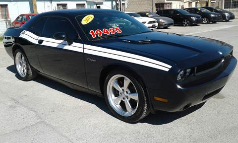 2012 Dodge Challenger for sale at CHAVIRA MOTORS in El Paso TX