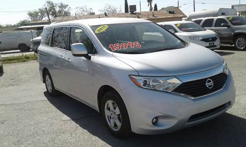 2015 Nissan Quest for sale at CHAVIRA MOTORS in El Paso TX