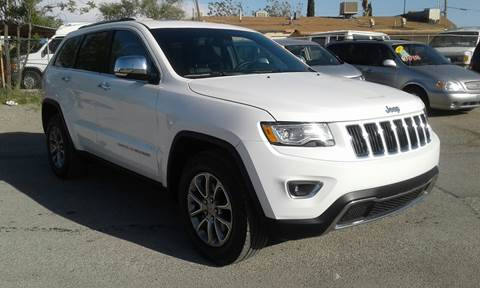 2015 Jeep Grand Cherokee for sale at CHAVIRA MOTORS in El Paso TX