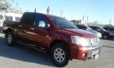 2004 Nissan Titan for sale at CHAVIRA MOTORS in El Paso TX
