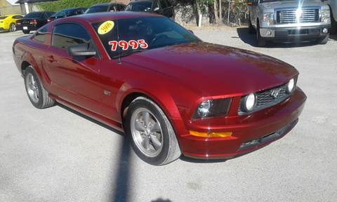 2006 Ford Mustang for sale at CHAVIRA MOTORS in El Paso TX