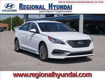 2017 Hyundai Sonata for sale at Regional Hyundai in Broken Arrow OK