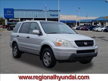 2005 Honda Pilot for sale at Regional Hyundai in Broken Arrow OK