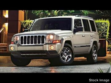 2008 Jeep Commander for sale at Regional Hyundai in Broken Arrow OK