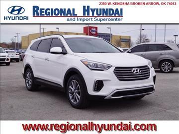 2017 Hyundai Santa Fe for sale at Regional Hyundai in Broken Arrow OK