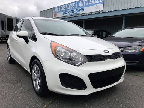 2013 Kia Rio5 for sale in Lakewood, WA