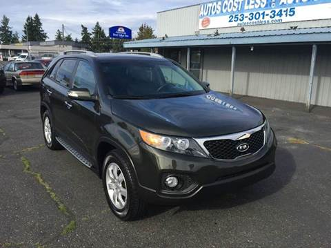 2013 Kia Sorento for sale at Autos Cost Less LLC in Lakewood WA