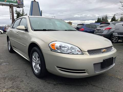 2012 Chevrolet Impala for sale in Lakewood, WA