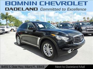 2016 Infiniti QX70 for sale in Miami, FL